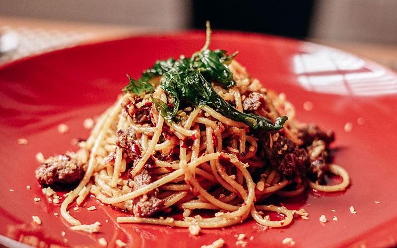 Spicy Beef Pasta