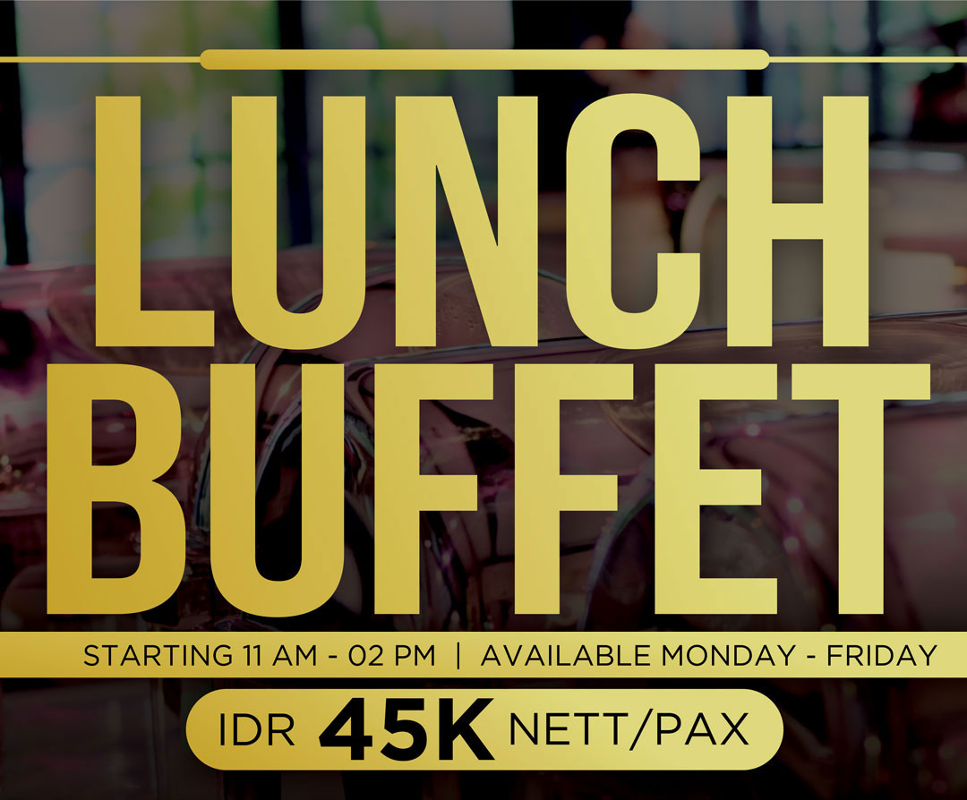 Promo Lunch Buffet