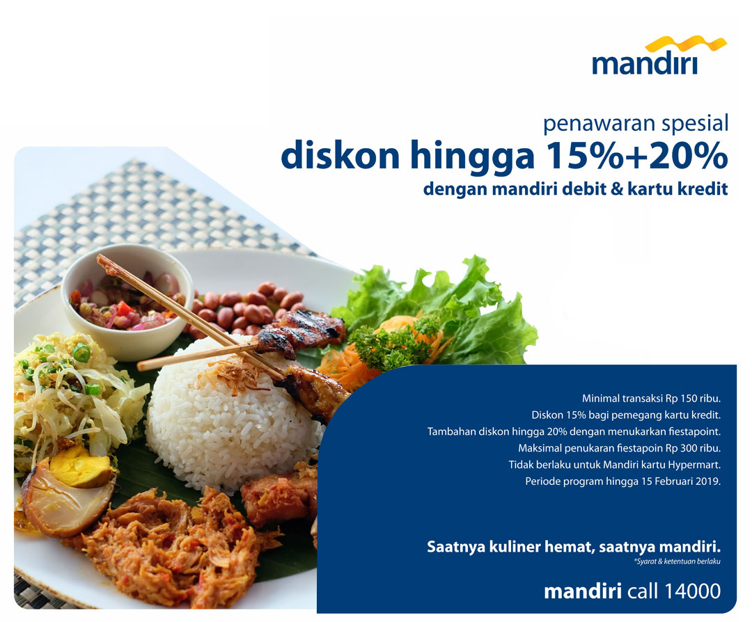 Madam Tan Resto Indonesian Food Promo Mandiri